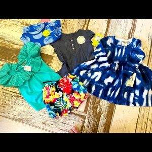 5 NWT 18-24 mos girl clothes! Quite a variety😃